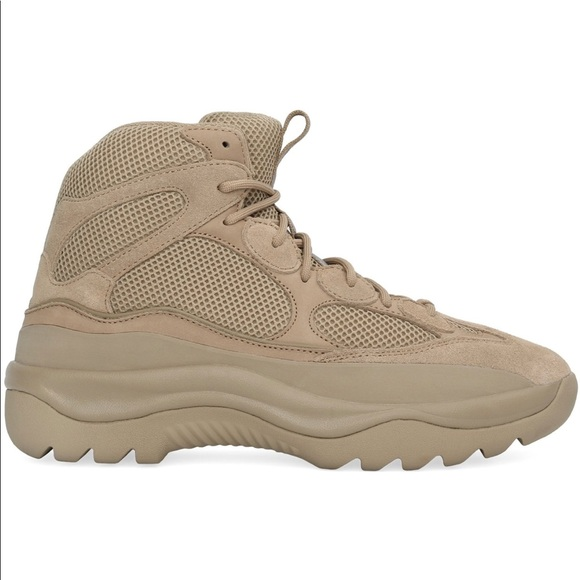 ac8b1c00ca7f2 Season 6 Yeezy Thick Suede Desert Boot Taupe